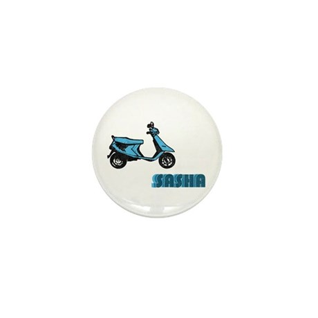 Scooter Sasha Mini Button (10 pack)