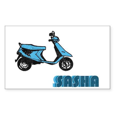 Scooter Sasha Rectangle Sticker