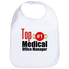 Top Medical Office Manager Bib