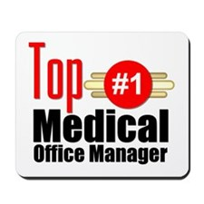Top Medical Office Manager Mousepad