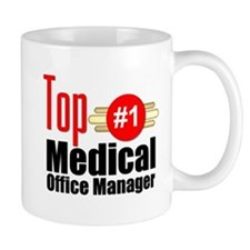 Top Medical Office Manager Small Mug