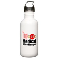 Top Medical Office Manager Water Bottle