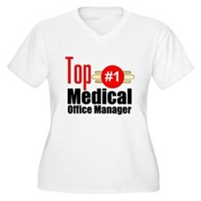 Top Medical Office Manager T-Shirt