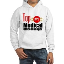 Top Medical Office Manager Hoodie