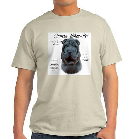Blue Chinese Shar-Pei Light T-Shirt