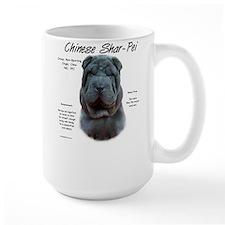Blue Chinese Shar-Pei Mug