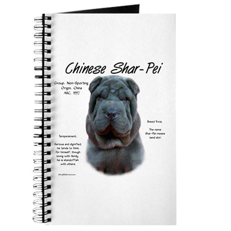 Blue Chinese Shar-Pei Journal