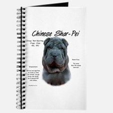 Blue Chinese Shar-Pei Journal