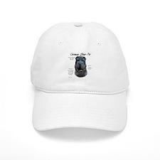 Blue Chinese Shar-Pei Baseball Cap