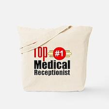 Top Medical Receptionist Tote Bag