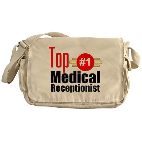 Top Medical Receptionist Messenger Bag