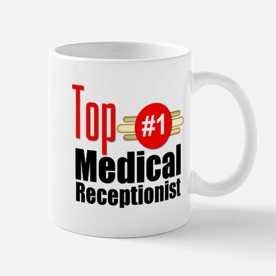Top Medical Receptionist Mug