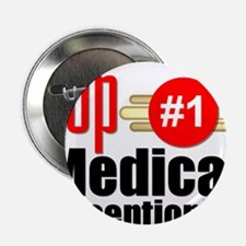 "Top Medical Receptionist 2.25"" Button"