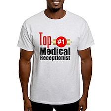 Top Medical Receptionist T-Shirt