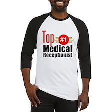 Top Medical Receptionist Baseball Jersey