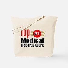 Top Medical Records Clerk Tote Bag