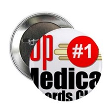 """Top Medical Records Clerk 2.25"""" Button"""