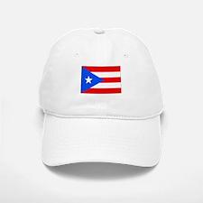 Puerto Rico Flag Picture Baseball Baseball Cap