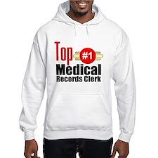 Top Medical Records Clerk Hoodie