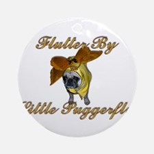 Puggerfly Ornament (Round)