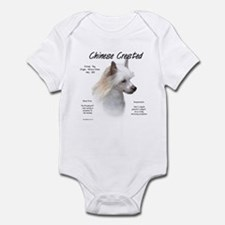 Powderpuff Crested Infant Bodysuit