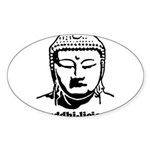 BUDDHA (Buddhi-licious) Sticker (Oval 50 pk)