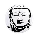 """BUDDHA (Buddhi-licious) 3.5"""" Button (100 pack"""