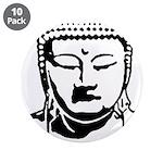 """BUDDHA (Buddhi-licious) 3.5"""" Button (10 pack)"""