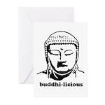 BUDDHA (Buddhi-licious) Greeting Cards (Pk of 20)