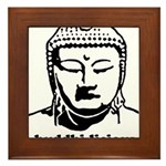 BUDDHA (Buddhi-licious) Framed Tile