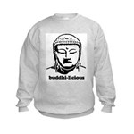BUDDHA (Buddhi-licious) Kids Sweatshirt