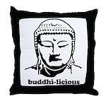 BUDDHA (Buddhi-licious) Throw Pillow