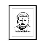 BUDDHA (Buddhi-licious) Framed Panel Print