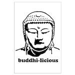 BUDDHA (Buddhi-licious) Large Poster
