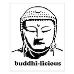BUDDHA (Buddhi-licious) Small Poster