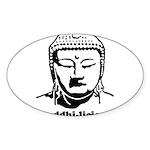 BUDDHA (Buddhi-licious) Sticker (Oval)