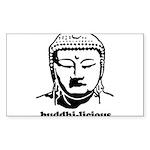 BUDDHA (Buddhi-licious) Sticker (Rectangle)