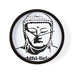 BUDDHA (Buddhi-licious) Wall Clock