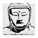 BUDDHA (Buddhi-licious) Tile Coaster