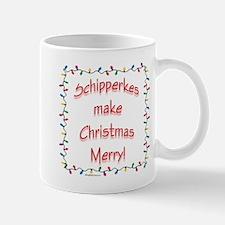 Merry Schipperke Mug