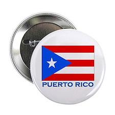 Puerto Rico Flag Gear Button