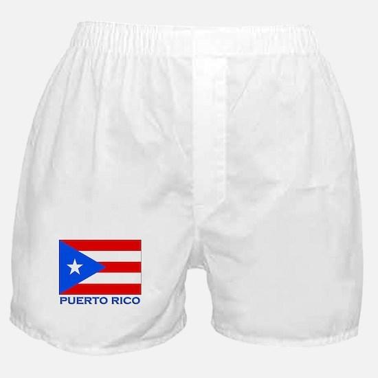 Puerto Rico Flag Gear Boxer Shorts