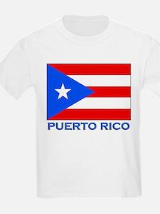 Puerto Rico Flag Gear Kids T-Shirt