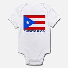 Puerto Rico Flag Gear Infant Bodysuit