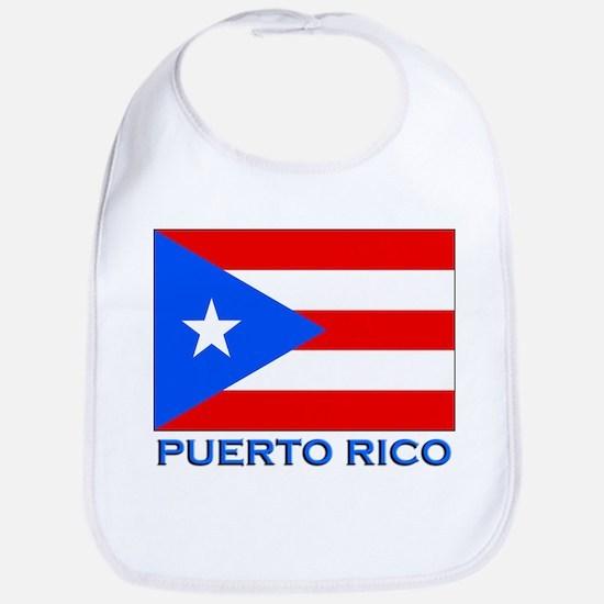 Puerto Rico Flag Gear Bib