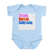 Im cute Infant Bodysuit