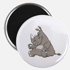 Rhino with an Attitude Magnet