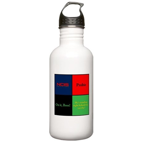 NCIS Quotes Stainless Water Bottle 1.0L
