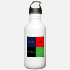 NCIS Quotes Water Bottle