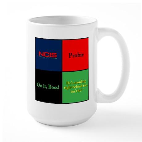 NCIS Quotes Large Mug